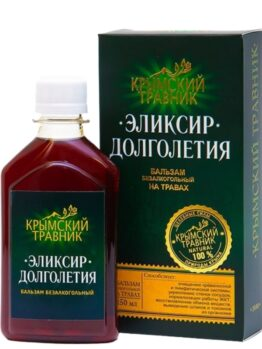 Бальзам безалкогольный на травах «Эликсир долголетия»